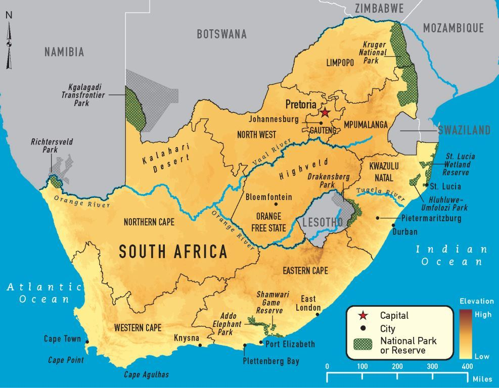 South African Economy in Recession as GDP Drops 1.4% in Q4