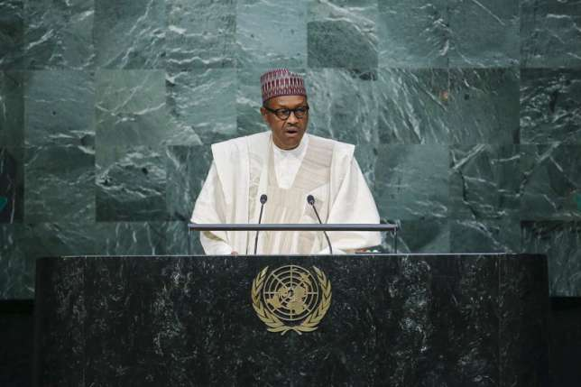 'Hidden' Buhari Speaks to Trump from London Vacation