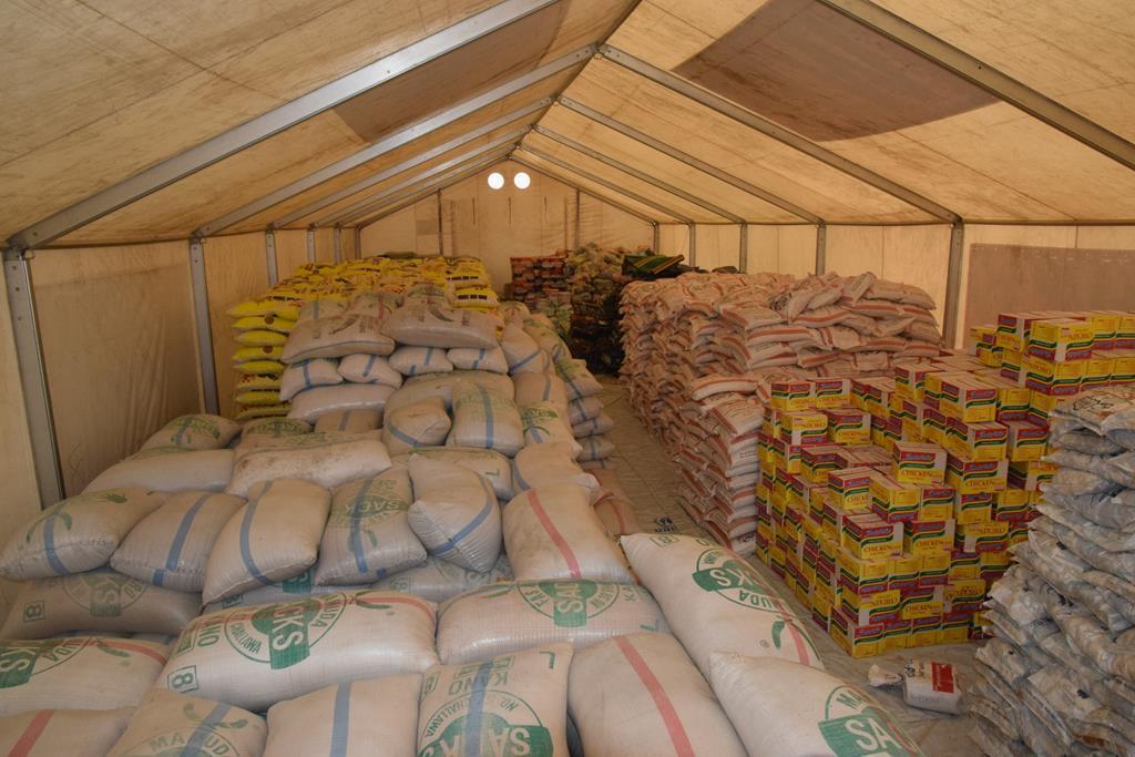 customs seized rice