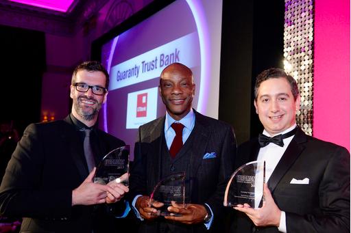 GTBank Scores Hat-Trick at Euromoney Awards