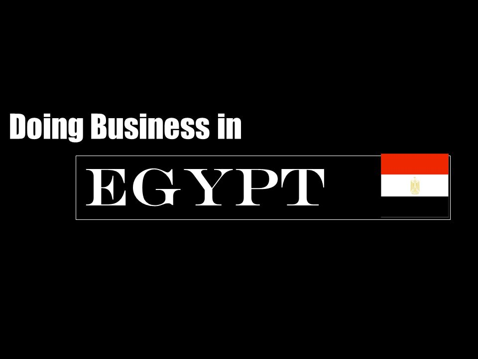 Investment to Egypt