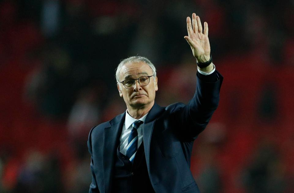 Leicester City Sack Ranieri as Manager