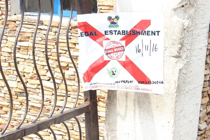 illegal Event Centres