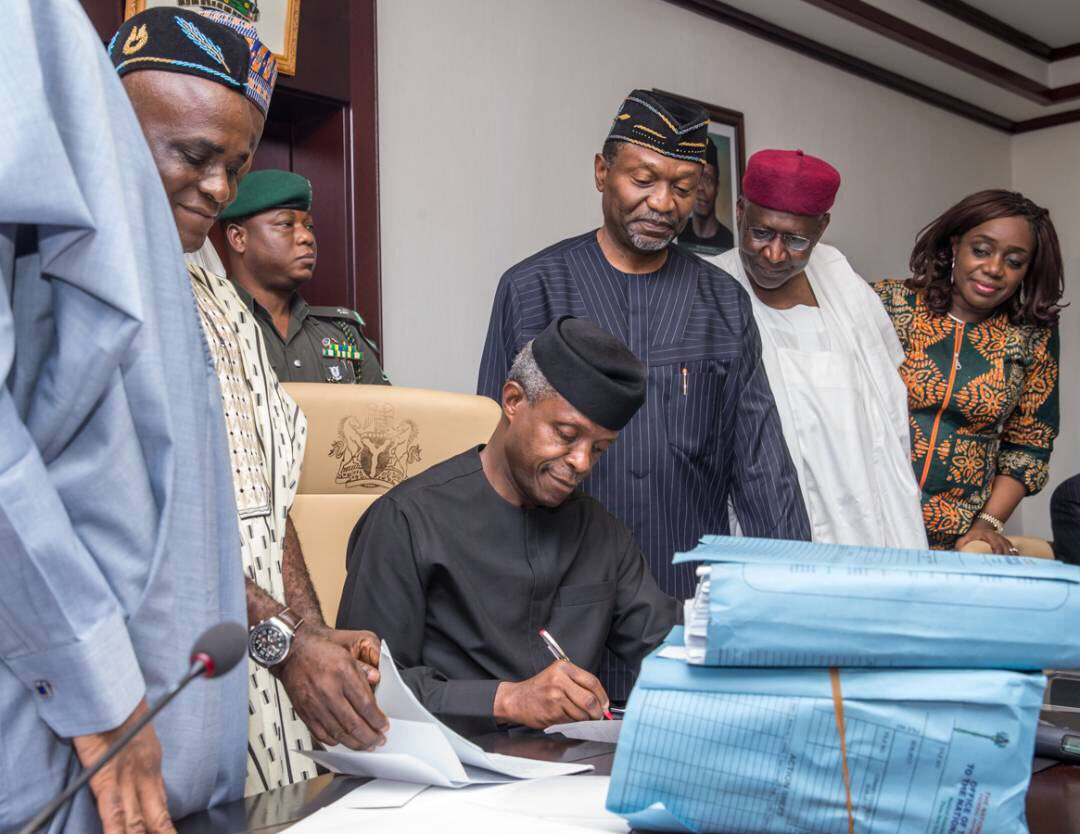 Anxiety as Buhari Signs 2018 Budget Today