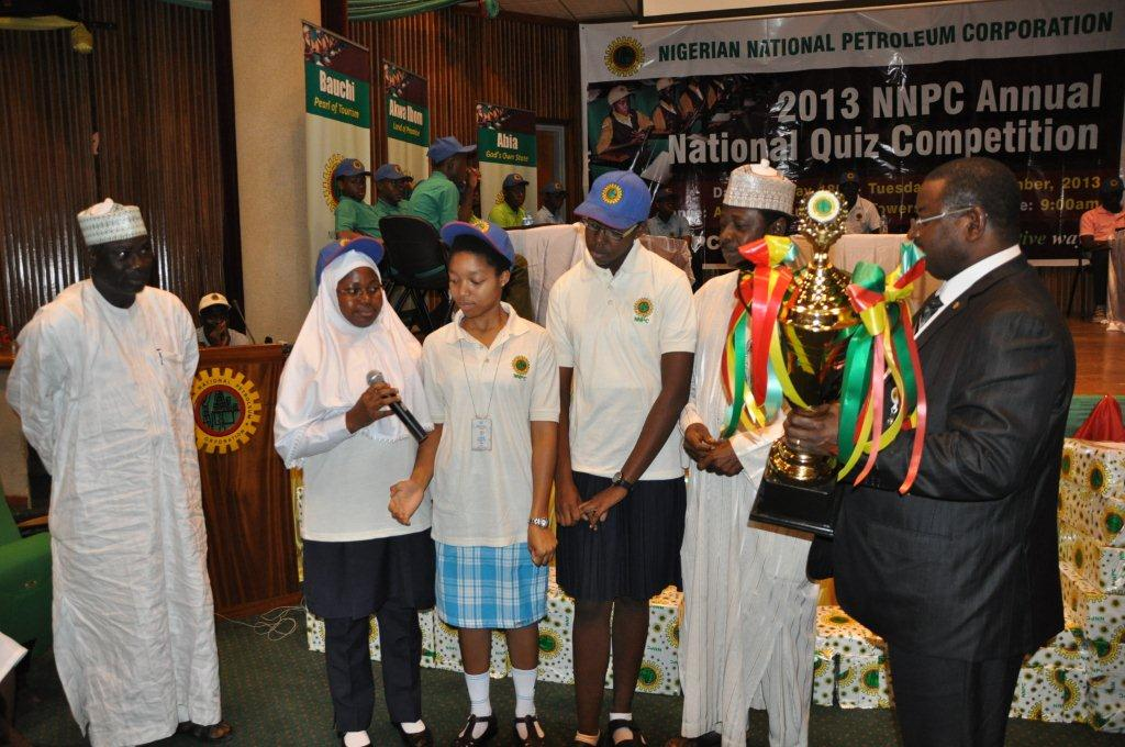 Winners Emerge in NNPC Quiz Competition