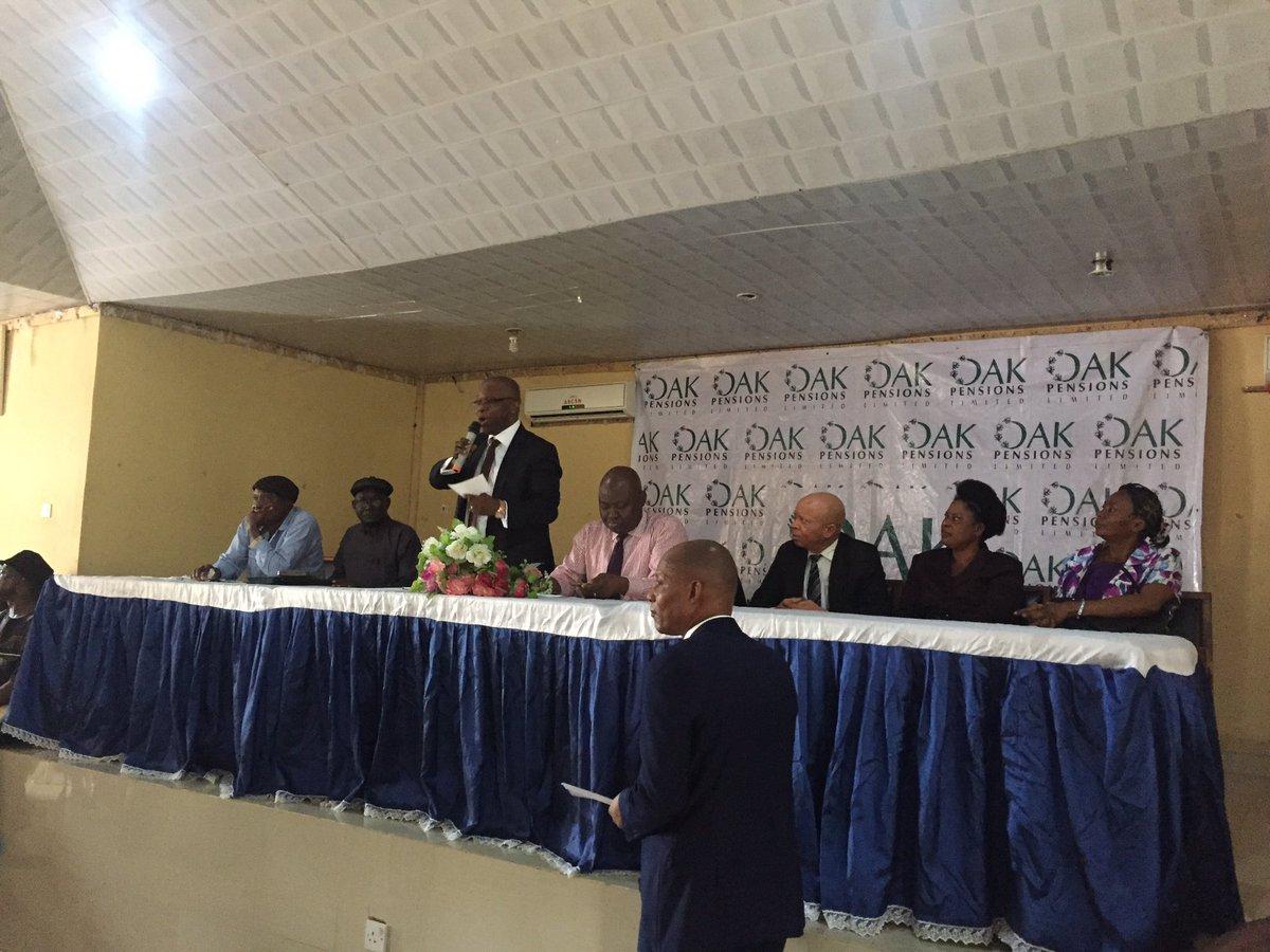 OAK Pensions Satisfied with Rise in Earnings