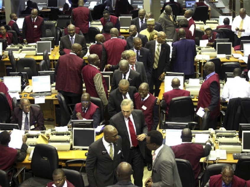 NSE index falls