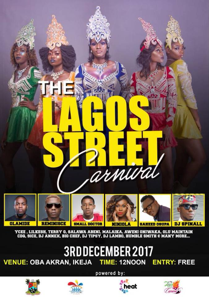 Lagos Street Carnival Holds Today