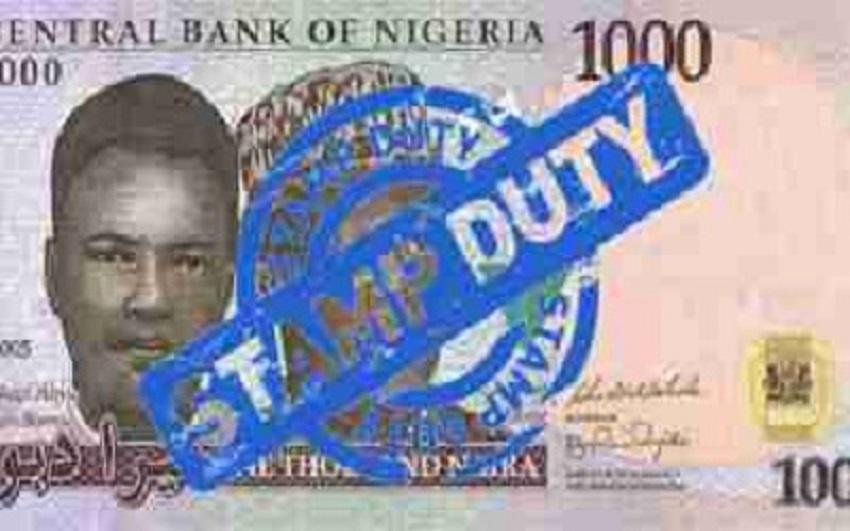 CBN bank stamp duty