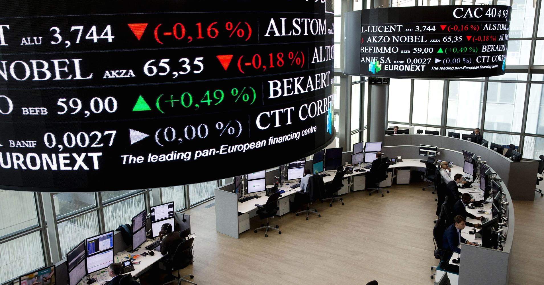 European Markets Close Higher on Gains by Banking Stocks