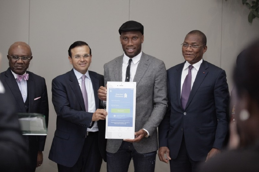Standard Chartered Bank Launches Digital Bank, Hires Drogba