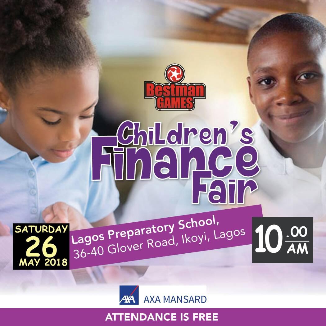 AXA Mansard Sponsors Children's Finance Education Fair