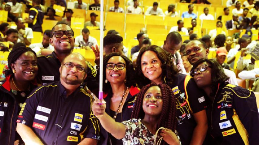 MTN Team Meets University of Nigeria Leadership, Students