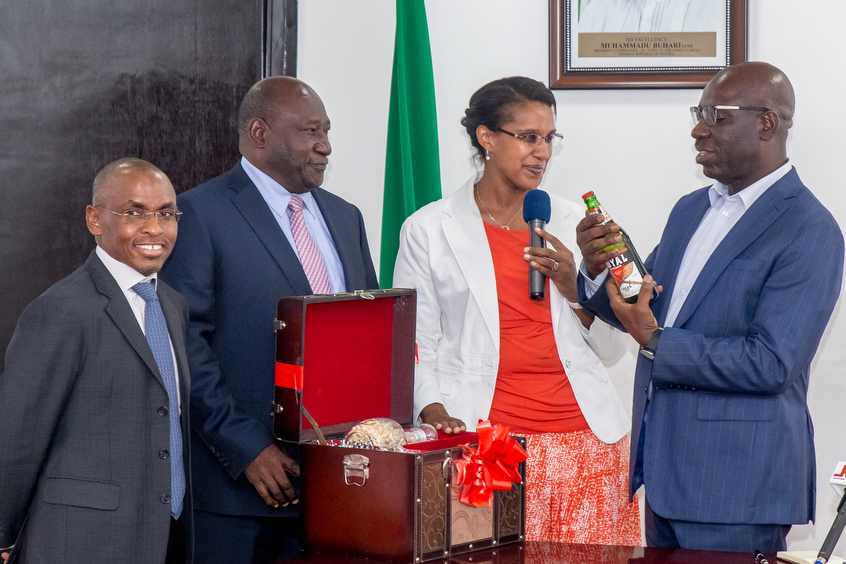 Obaseki Seeks More Incentives for Local Companies, Lauds Guinness Nigeria