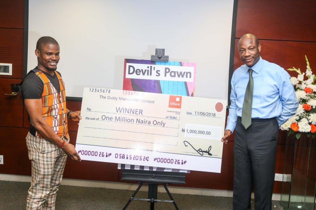 Kukogho Samson Wins GTBank's Dusty Manuscript Contest