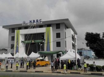 Tax officials at NDDC headquarters