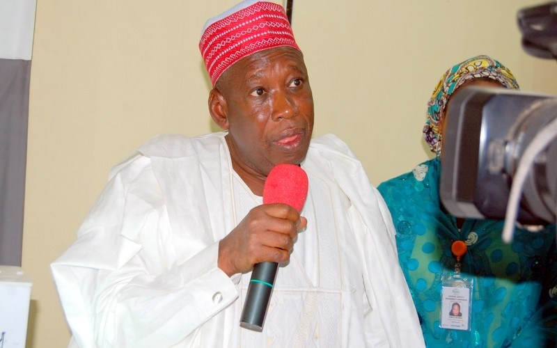abdullahi ganduje collects bribe