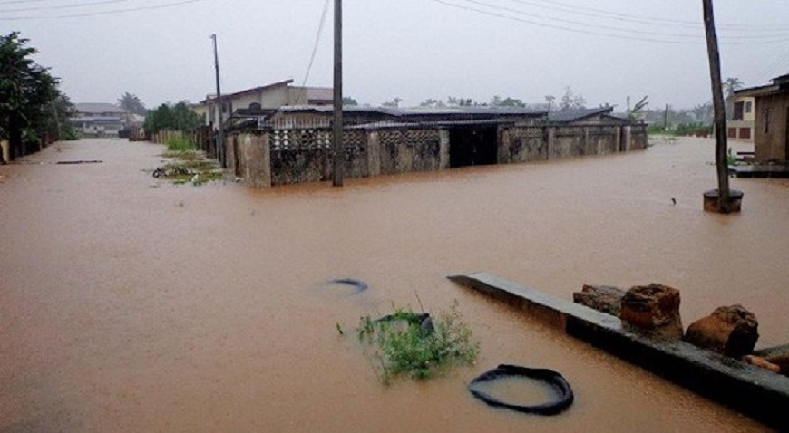 flood in bayelsa niger delta