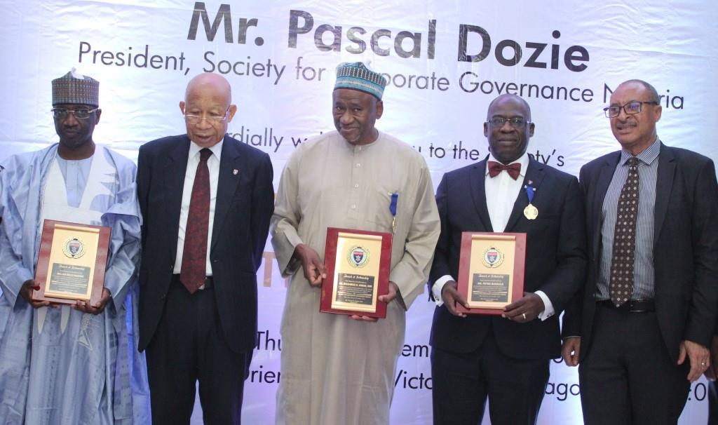 Corporate Governance Society Inducts Polaris Bank Chairman