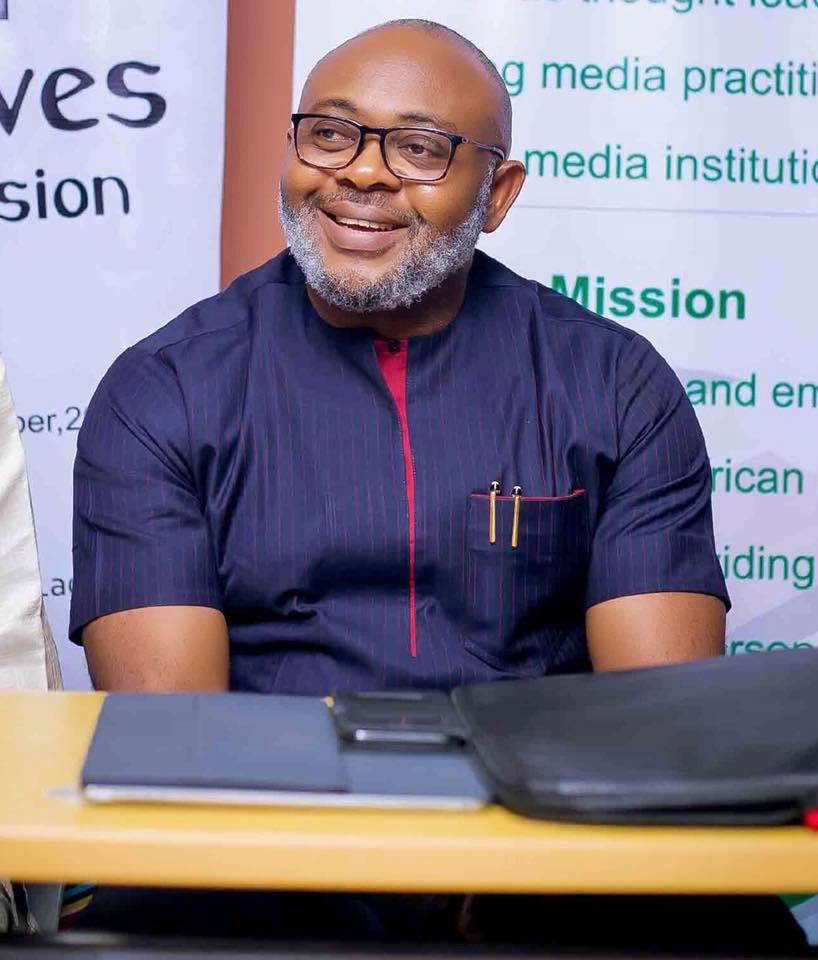 Emeka Oparah for Lagos PR Clinic in February