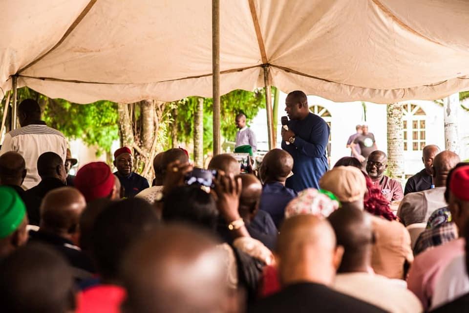 Irona's Historic Visit to Mbaise