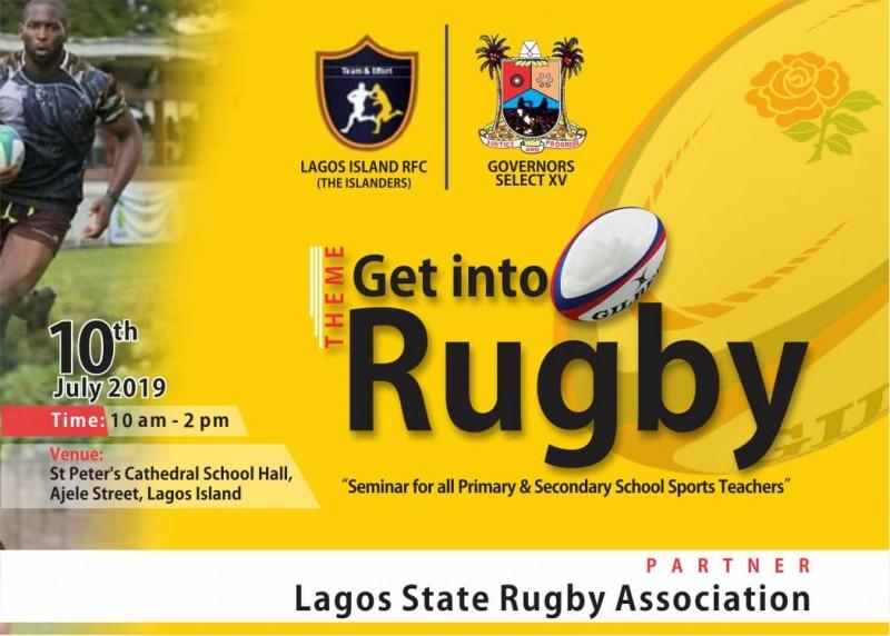 Rugby Seminar Thrills Lagos Teachers, Pupils