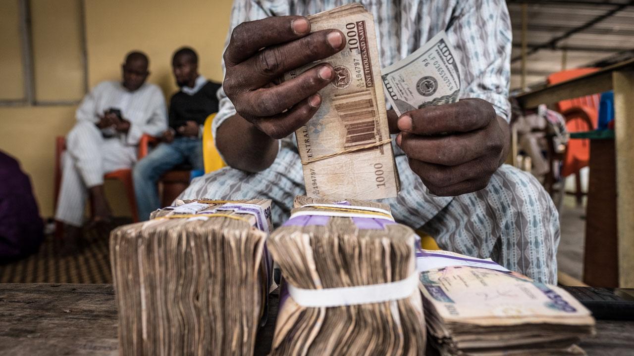 naira at forex market