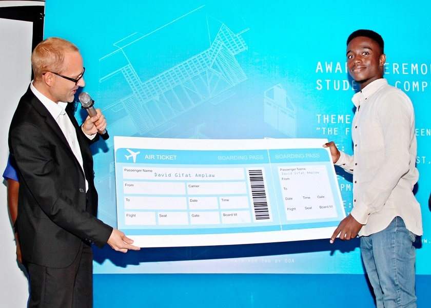 IFC Sponsors Ghanaian Student Architects to GBCSA Conference