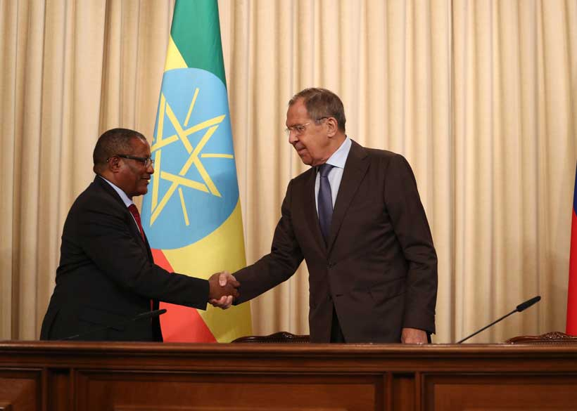 Russia, Ethiopia Need to Catch Up