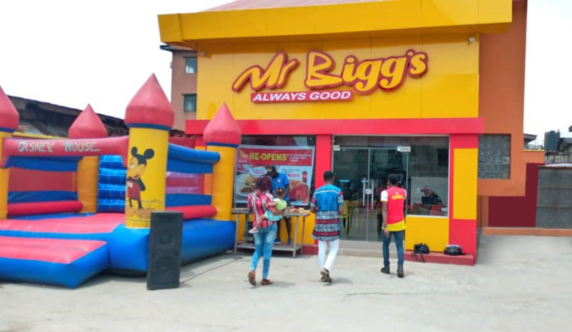 Mr Bigg's Revamps More Outlets