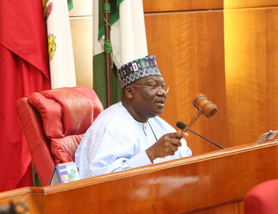 Senate President Ahmad Lawan
