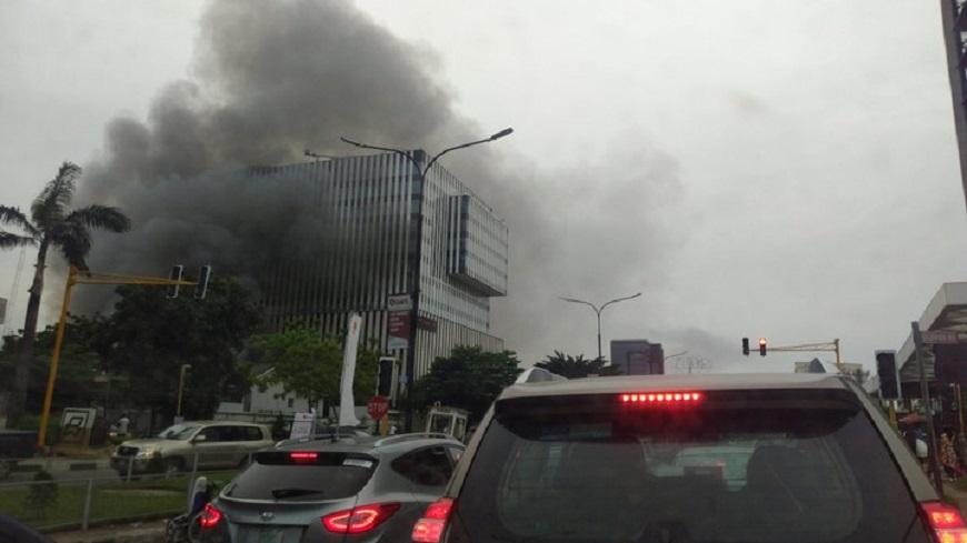 Transcorp Fire in Lagos
