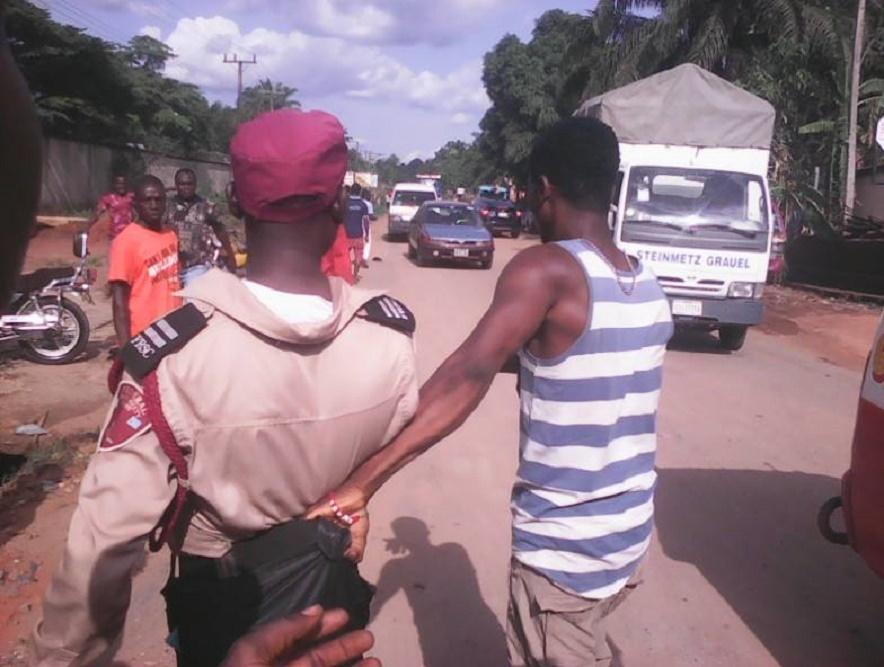 nigeria road safety officials