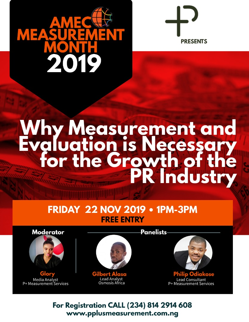 2019 AMEC Measurement Month in Nigeria