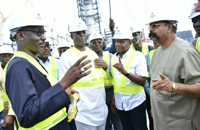 FG completion of dangote refinery