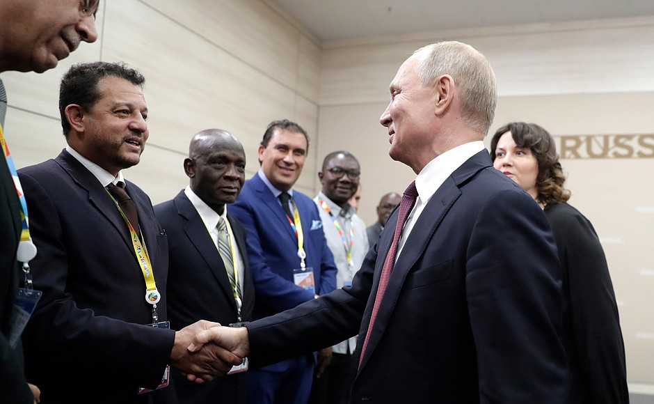 Heads of News Agencies with Putin