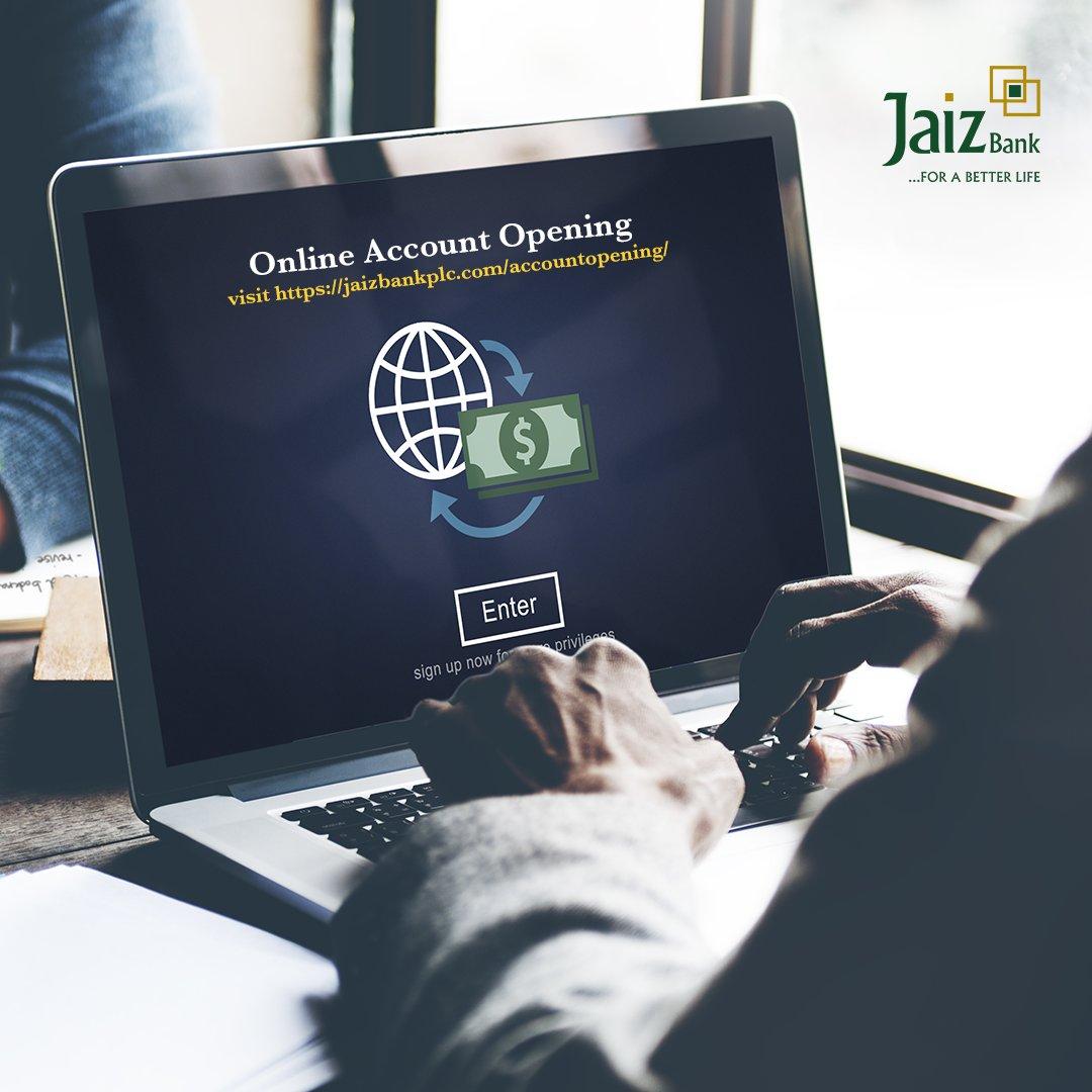 Jaiz Bank online account opening