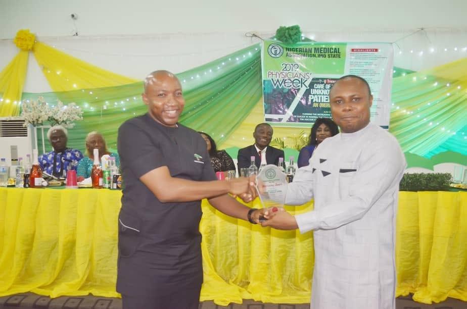 NMA Meritorious Service Award Imo Deputy Governor