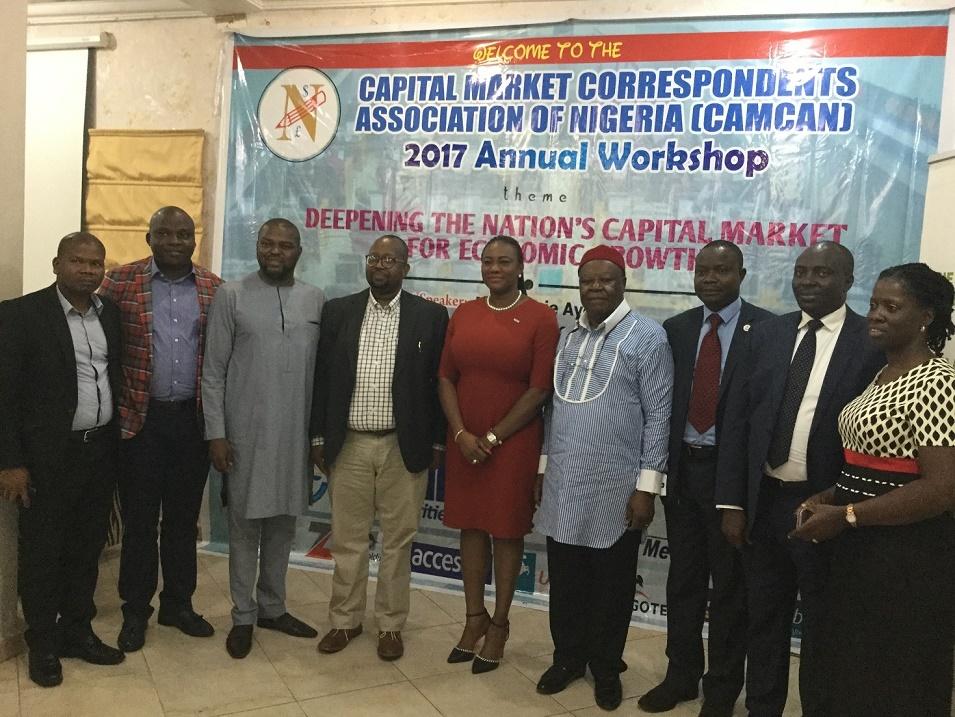 Capital Market Correspondents Association of Nigeria CAMCAN