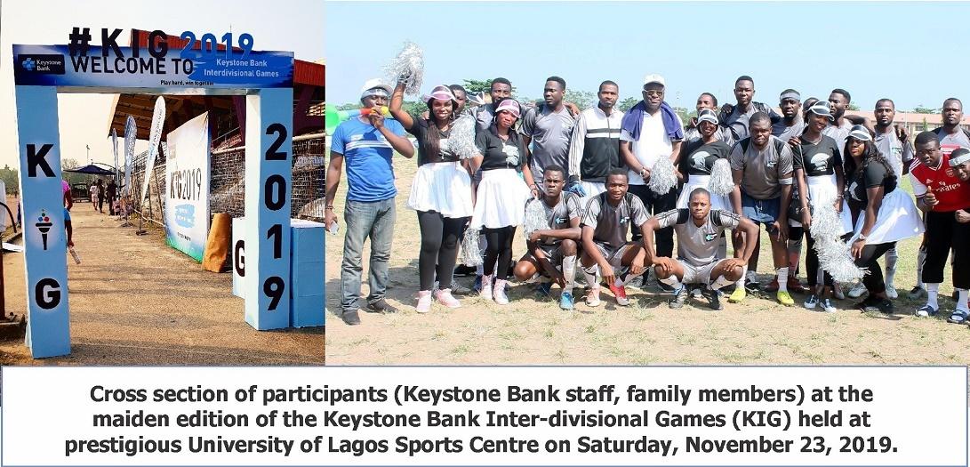 Keystone Bank Inter-Divisional Games