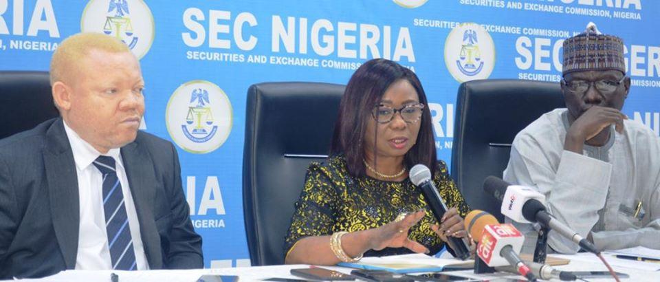 SEC Nigeria infrastructure deficit