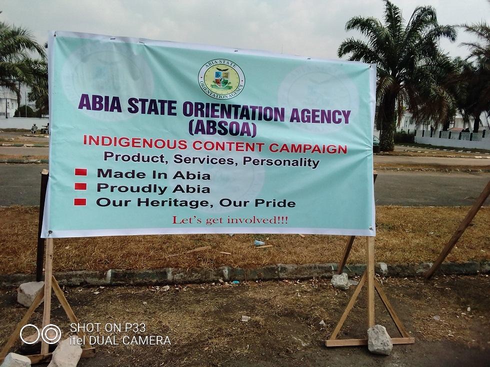 Abia Indigenous Content Campaign
