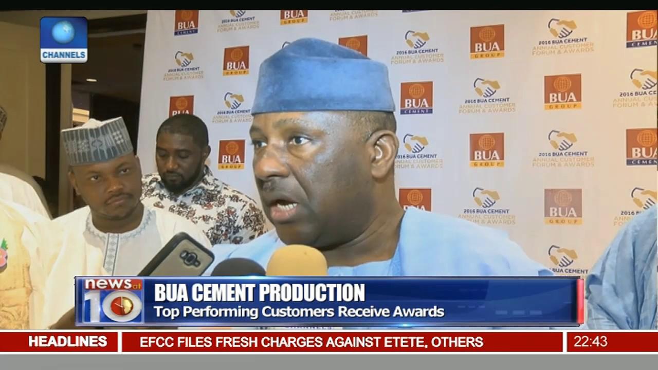BUA Cement share price