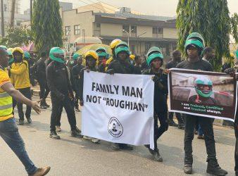 Gokada Max Riders Protest