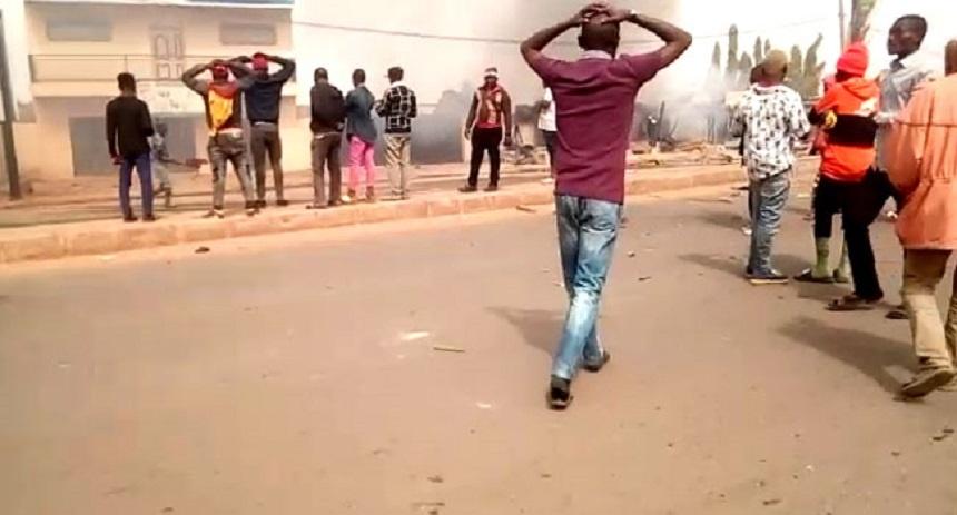 Kaduna Gas fire