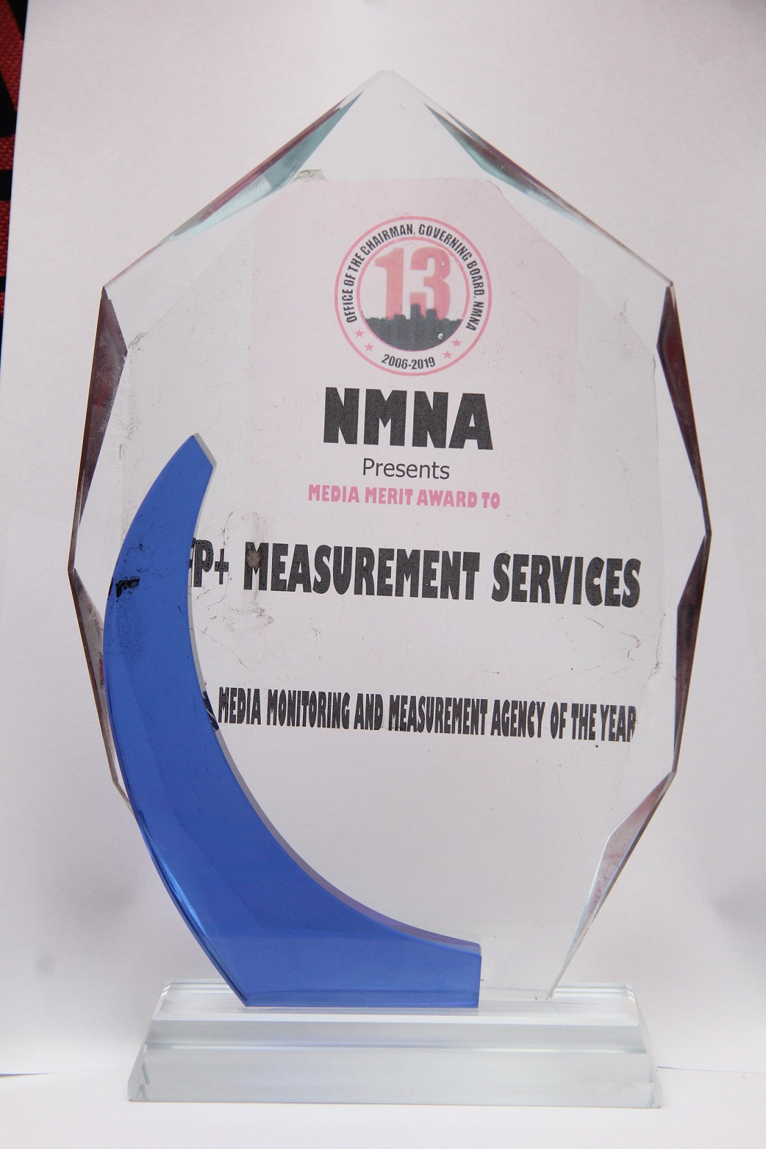 P+ Measurement Wins NMNA Award