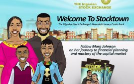 StockTown Comic Book