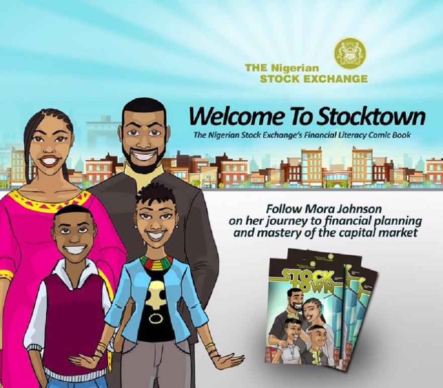 StockTown Comic Book