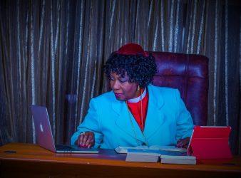 woman preach church