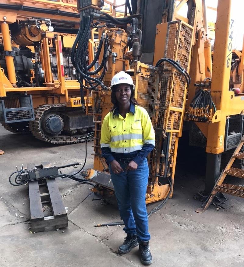 Geodrill women in mining